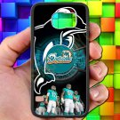 miami dolphins ryan tannehill fit for samsung galaxy S6 S 6 S VI black case cover