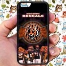 "Cincinnati Bengals football a j green fit for iphone 6 4.7"" black case cover"
