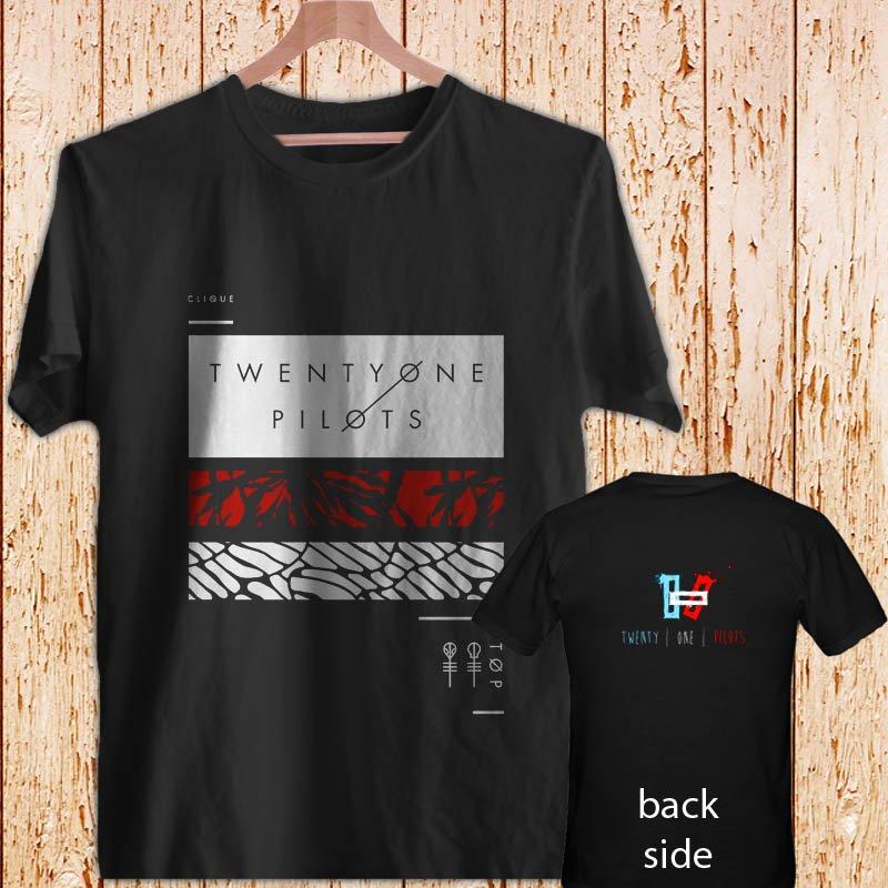 21 TWENTY ONE PILOTS - Blurryface black t-shirt tshirt shirts tee SIZE 2XL
