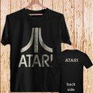 Atari Classic Logo black t-shirt tshirt shirts tee SIZE L