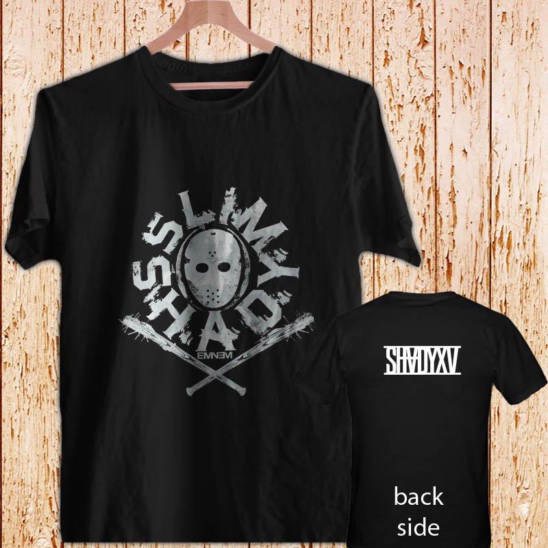 EMINEM Slim Shady Mask black t-shirt tshirt shirts tee SIZE S