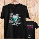 Invader ZIM Doom! Animated TV Series black t-shirt tshirt shirts tee SIZE XL