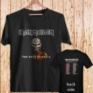 IRON MAIDEN THE BOOK OF SOULS TOUR DATES 2016 black t-shirt tshirt shirts tee SIZE L
