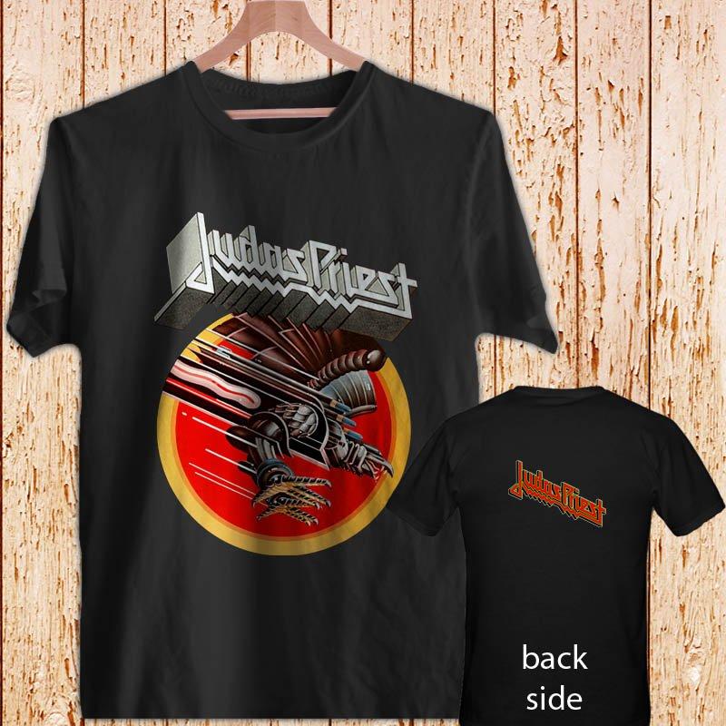 Judas Priest Screaming for Vengeance Tour'82 black t-shirt tshirt shirts tee SIZE L