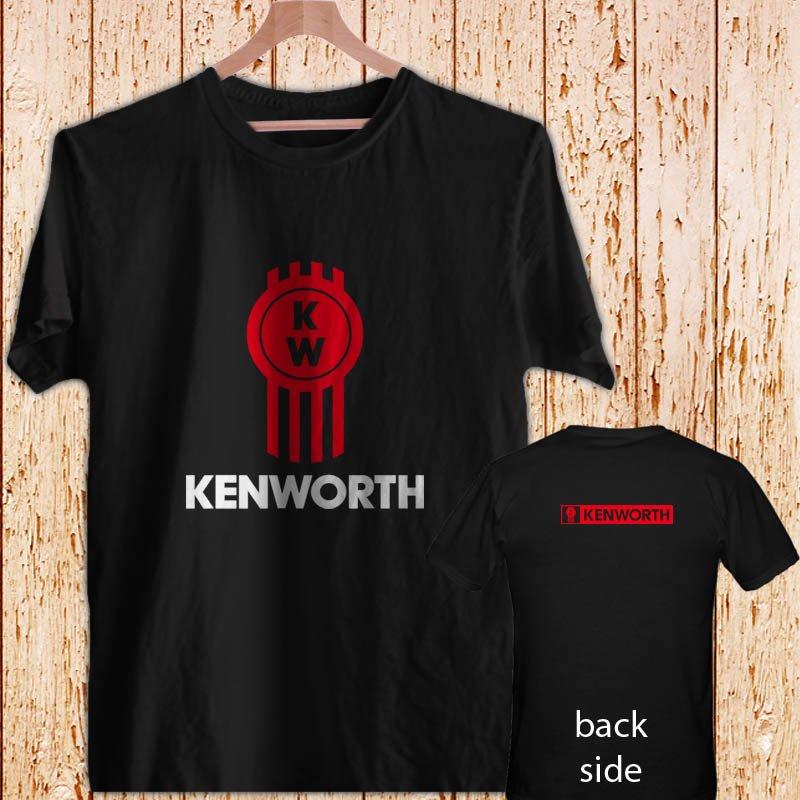 Kenworth Truck Logo black t-shirt tshirt shirts tee SIZE 2XL