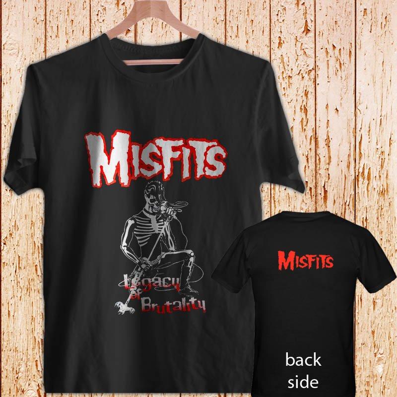 Misfits Legacy Of Brutality black t-shirt tshirt shirts tee SIZE XL