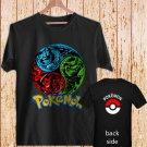 Pokemon Venusaur Charizard Blastoise black t-shirt tshirt shirts tee SIZE 2XL