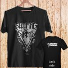 SLEEPING WITH SIRENS Diamond Logo black t-shirt tshirt shirts tee SIZE 2XL