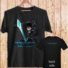 Sword Art Online Poster black t-shirt tshirt shirts tee SIZE S
