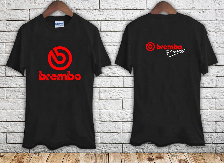 BREMBO RACING Brake System Logo black t-shirt tshirt shirts tee SIZE 3XL