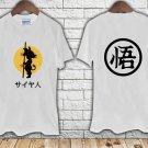 Dragon Ball Z Kid Goku Gym white t-shirt tshirt shirts tee SIZE L