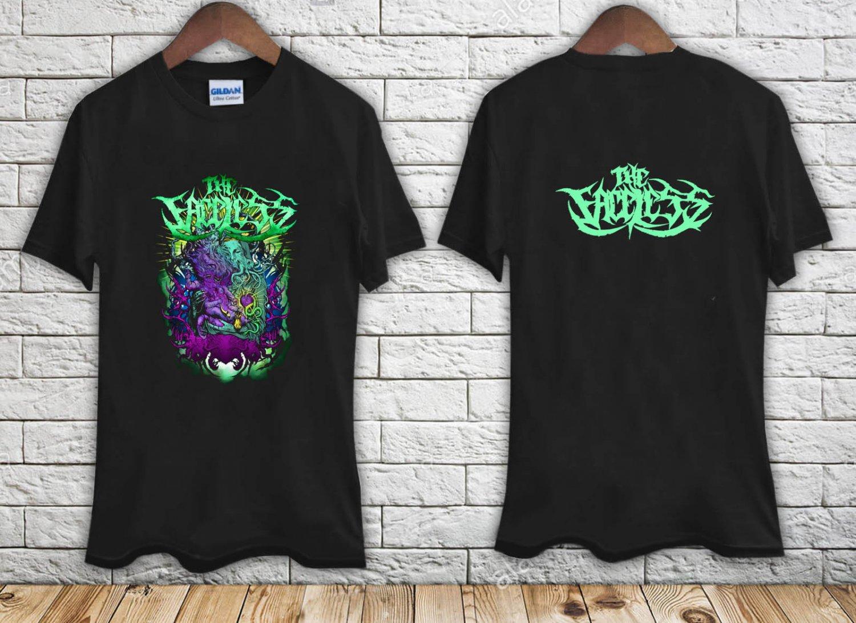 THE FACELESS Prophet Of Contamination black t-shirt tshirt shirts tee SIZE 2XL