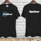 TOP GEAR Automotive Megazine TV Show Logo black t-shirt tshirt shirts tee SIZE 2XL