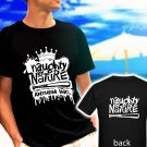Naughty By Nature Rap Hip Hop Mens black t-shirt tshirt shirts tee SIZE L