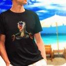 rafiki meditate black t-shirt tshirt shirts tee SIZE L