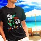 A TRIBE CALLED QUEST Beats Rhymes black t-shirt tshirt shirts tee SIZE 2XL
