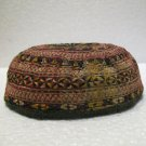 More than a 100 y/old Turkoman hat daily use or to collect fine embroidery n: 28