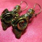 1 of a kind handmade earrings vintage antique tribal kuchi gem stone unique 7