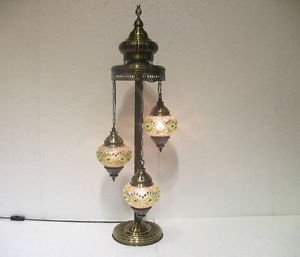 moroccan lantern floor lamp mosaic light lampe mosaique glass candle holder 004