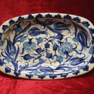 H.made lead free Ottoman iznik rice plate bowl collectible turkish ceramic 14