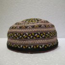 Antique asian fine embroidery hat turkish beret collecion hat vegetable dyes 25