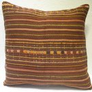 Antique Patchwork Couch Pillow kilim coushin housse de coussin kelim kissen h 26
