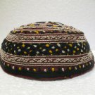 Antique asian fine embroidery hat turkish beret collecion hat vegetable dyes 23
