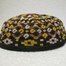 Antique asian fine embroidery hat turkish beret collecion hat vegetable dyes 20