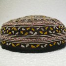 Antique asian fine embroidery hat turkish beret collecion hat vegetable dyes 27