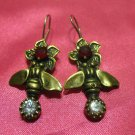 1 of a kind handmade earrings vintage antique tribal kuchi gem stone unique 5