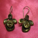 1 of a kind handmade earrings vintage antique tribal kuchi gem stone unique 3