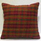 Antique nomadic kelim kissen sofa throw pillow cover tribal rug cushion 67