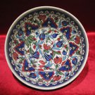 1 of a kind lead free Ottoman iznik fruit bowl collectible turkish ceramic 1