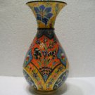 Turkish ceramic Handmade tile vase Türkische Keramik decorative vase unique v 1