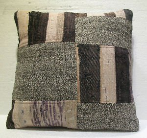 Antique Decorative Patchwork Pillow Turkish Kilim cushion kissen 20'' (no 17)