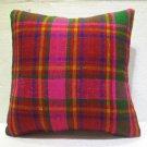 Antique nomadic kelim kissen sofa throw pillow cover tribal rug cushion 57
