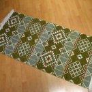 Kilim rug flat weaving wall hanging entry carpet tapis Turc teppiche kelim 30