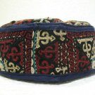 Antique asian fine embroidery hat turkish beret collecion hat vegetable dyes 10