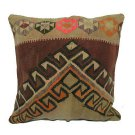 Antique Decorative Couch Throw Pillow Turkish Kilim Rustic Cushion 24'' (y042)