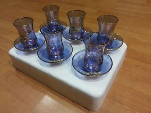 Tea set tea cup cay turkish tea set Turkish Tea Glasses Set  14