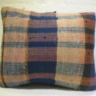 Antique patchwork kelim kissen sofa throw pillow cover tribal rug cushion 45