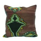 Antique Decorative Couch Throw Pillow Turkish Kilim Rustic Cushion 24'' (y030)