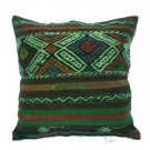 Antique Decorative Couch Throw Pillow Turkish Kilim Rustic Cushion 24'' (y029)