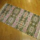 Kilim rug flat weaving wall hanging entry carpet tapis Turc teppiche kelim 46