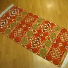Kilim rug flat weaving wall hanging entry carpet tapis Turc teppiche kelim 48