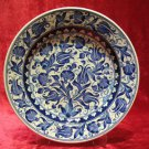 H.made lead free Ottoman iznik plate wall hanging collectible turkish ceramic 8