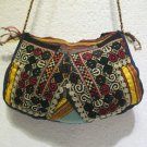 Vintage bag embroidery bag suzani fabric antique Turkish bag vintage purse c 058