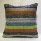 Handmade kilim nomadic Turkish handmade cecim kilim pillow cushion 16.4'' (118 )