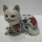ceramic cat handmade Tribal Turkish made Decorative cat ceramic cat handmade 2