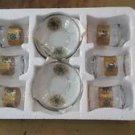 Turkish tea set tea glasses ottoman cups glass mug hot tea glasses tribal set 49